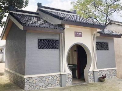 古典式环保厕所