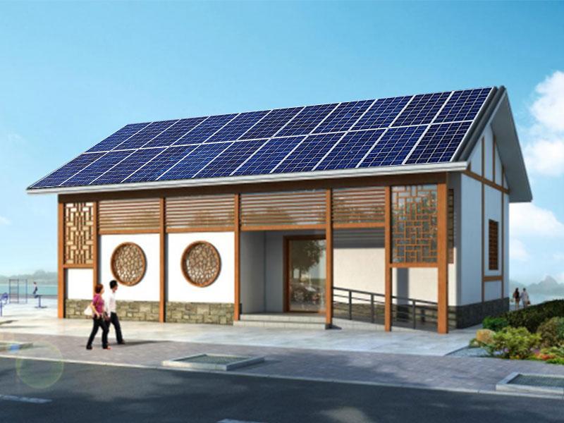 太阳能供电(市电互补)